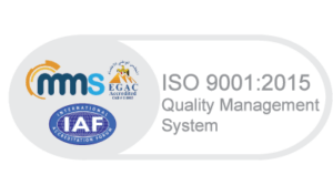 ISO-9001-2015 certified management system